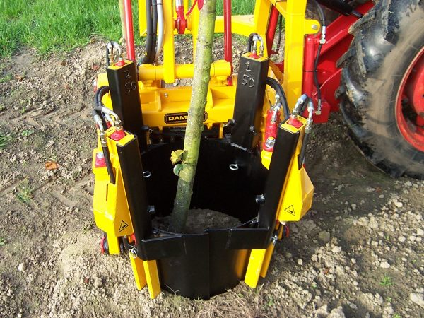 Tractor mounted tree spades | Damcon tree nursery equipment